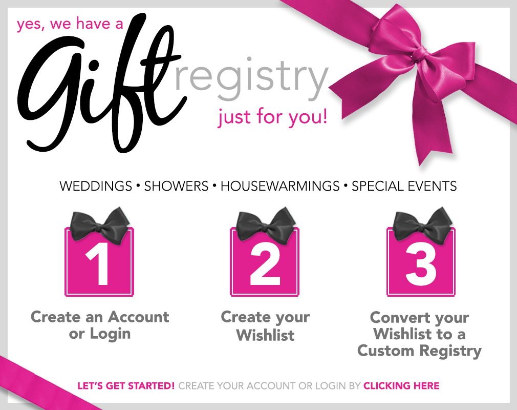 Our canby or discounted furniture store offers a useful gift registry gift registry negle Choice Image